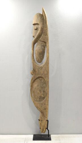 Statue Papua New Guinea Hook One Leg Figure