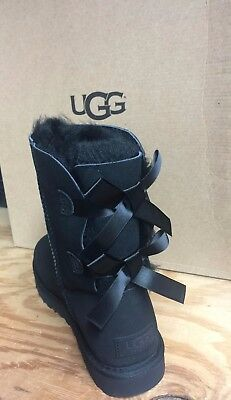 Bailey Bow Ugg ( UGG AUSTRALIA WOMENS Bailey Bow II  boots Black )