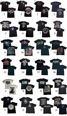 Authentic Sons Of Anarchy Adult Men T Shirt S 3Xl Tee