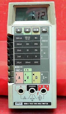 Fluke 8060a 4715369 True Rms Multimeter