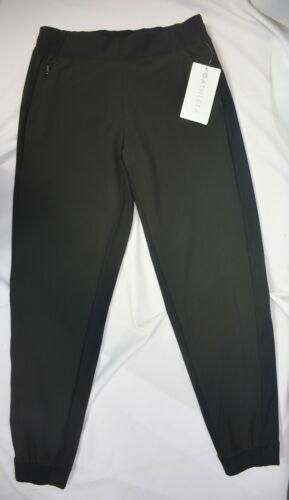 NWT $98 Athleta Size 2 (XS) Black Textured Brooklyn Jogger Pant  Pants #566689