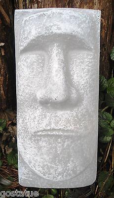 Garden Molds (Tiki face plastic mold garden plaster concrete casting)