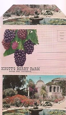KNOTTS BERRY FARM VINTAGE POSTCARD SET