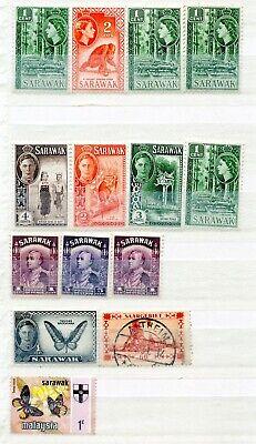 1 Sarawak Mint Hinged Used Hinged