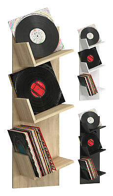 VCM Regal Schallplatten Möbel LP Aufbwahrung Archivierung Wandregal Hängeregal