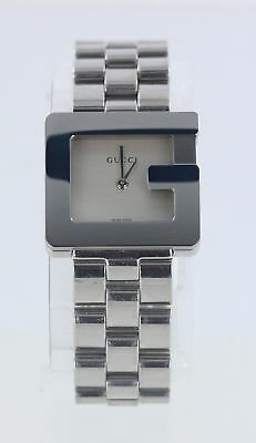 4d4ae14b3a4 PreOwned Gucci 3605 3600L YA036504 Stainless Steel Ladies Watch Missing  Links 6