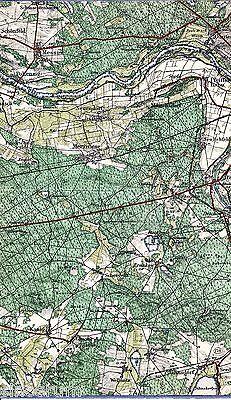 Pollenzig Merzwiese Jähnsdorf 1930 Karte /Ln. *Połęcko Wężyska Janiszowice