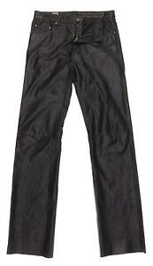 Mens Leather Pants | eBay