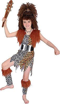 inzeit Samt Kostüm Perücke Kette Gürtel Keule  Gr. 110 - 152 (Caveman Kostüme)