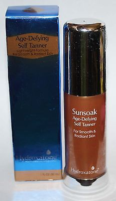Hydroxatone Sunsoak Age-defying Self Tanner 1 Oz Reduced