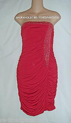 Ruby Rox – Designer – Dress - Prom - Red - Strapless – Jr Size Xl (15) – $60
