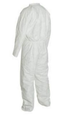 4 -  PAIR of Kappler Paper Suit Tyvek Protective Coveralls Size: XL *NEW*