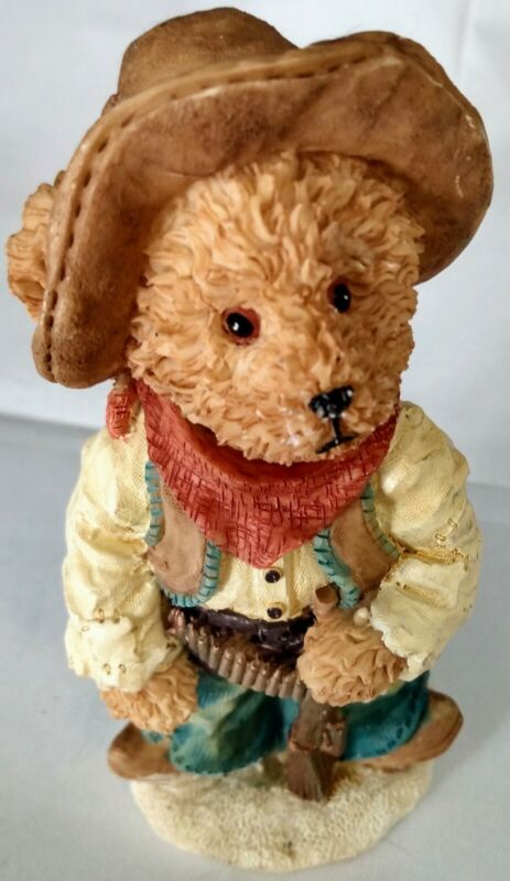 Cowboy Bear Figure