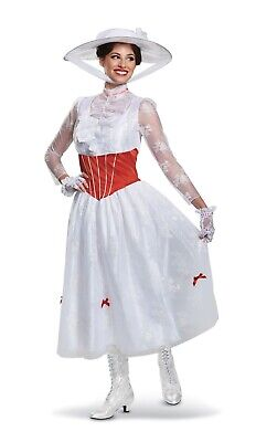 Adult Mary Costume (Deluxe Mary Poppins ADULT Womens Costume)