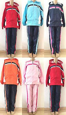 Jungen Sport Hose (Kinder Jungen Mädchen Sportanzug Gr.128-158  Trainingsanzug Jacke Hose Neu)
