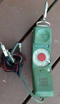 Northern Telecom Model Rd 1967 Linemans Rotary Telephone Butt Set