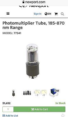 New Oriel 77341 Model Photomultiplier Tube 185-870 Nm Range