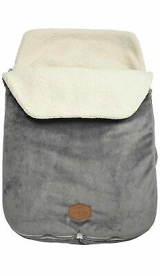 JJ Cole Original Bundleme Bunting Bag, Canopy Style, Graphite, NEW