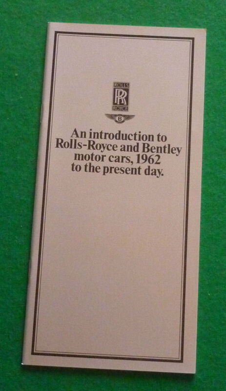 INTRODUCTION+TO+ROLLS+ROYCE+%26+BENTLEY+CARS+1962+-+1984+BROCHURE+%28SHADOW+SPUR+T2%29