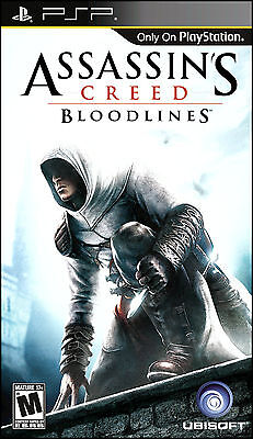 New Assassin's Creed Bloodlines Game for PSP Greatest Hits Edition Sony PSP on Rummage