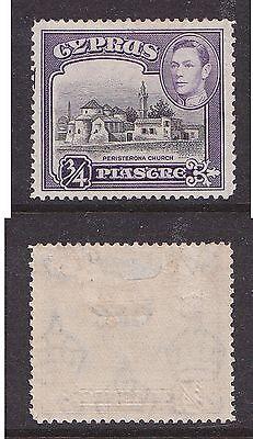 Cyprus 1938 3/4pi Peristerona Church (mm )