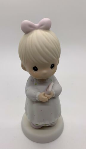 """Precious Moments """"The Good Lord Always Delivers"""" Figurine, # 523453"""