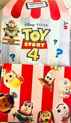 2019 DISNEY Toy Story 4 MINI BLIND BAGS special edition ASTRO BUZZ LIGHTYEAR!!! (Blind Bags Toys)