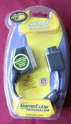 Câble vidéo RGB pour Nintendo Gamecube et Nintendo 64, péritel scart -...