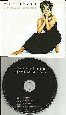 WHIGFIELD Big Time / close MIXES & LAST CHRISTMAS CD Single USA Seller WHAM TRK ()