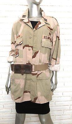 US Military Air Force Desert Combat Uniform DCU Camouflage Jacket Women's - Womans Desert Camouflage