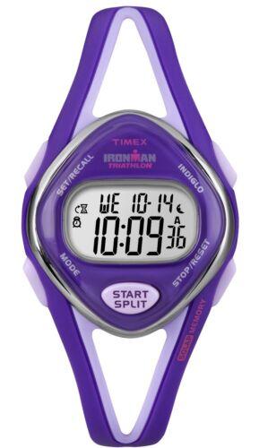 Timex Women's T5K654 Ironman Purple 50-Lap Resin Digital Watch