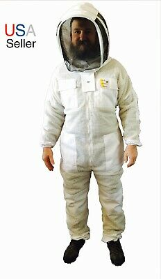 Beekeeping Ventilated Suit Bee Keeper Suit Beekeeper Protective Clothing Veil
