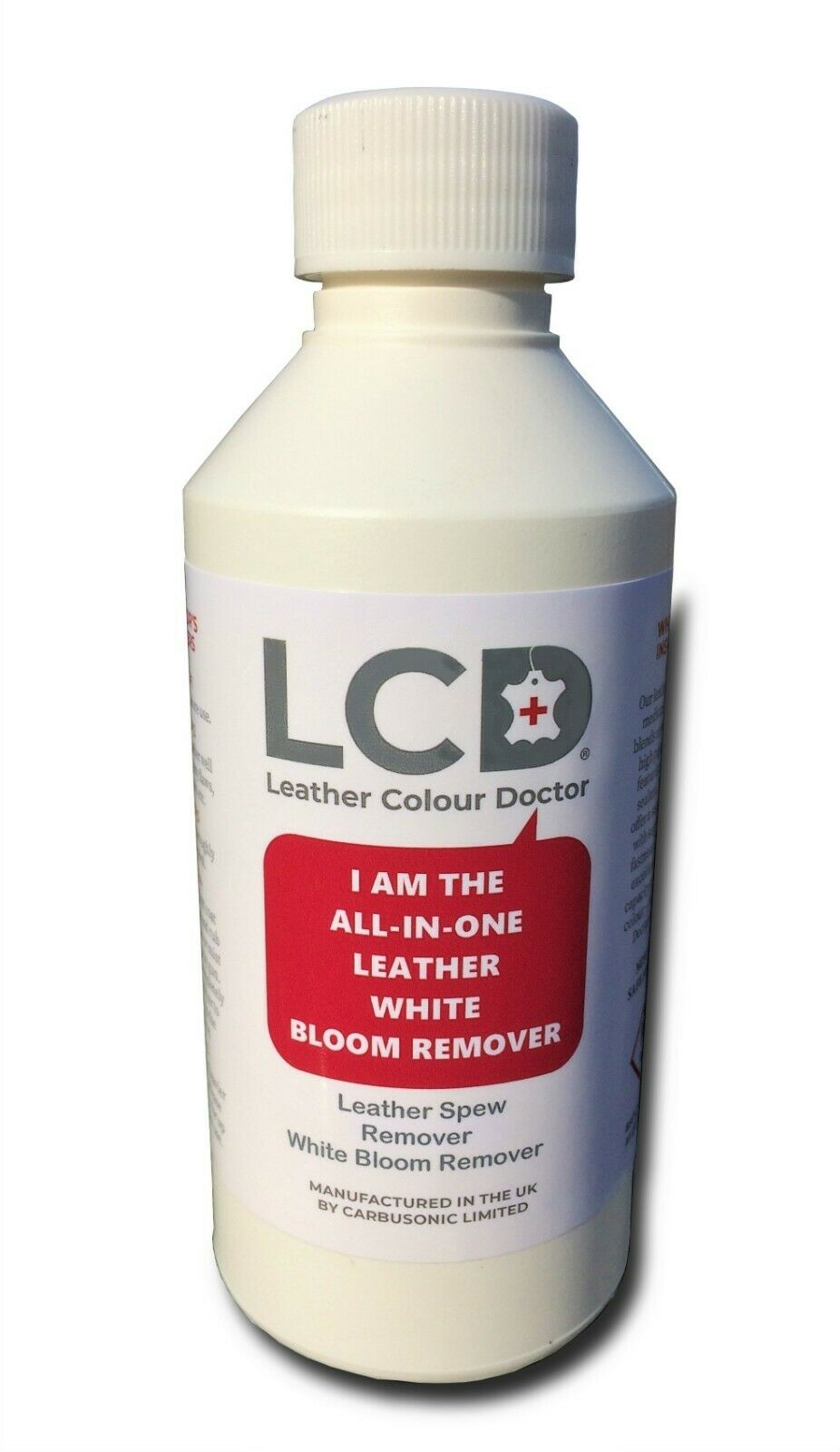 Leather Spew Remover White Bloom Stain Treatment Prevents White Bloom Returning