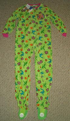 NWT Disney Fairies Tinkerbell Footed Blanket Sleeper Pajamas Size - Disney Fairies Pajamas