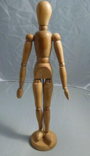 Vintage Wood Articulated Artist Form Manikin Mannequin Art Model
