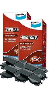 BENDIX BRAKE PADS FRONT & REAR NISSAN PATROL GU Y61 DB1361-4WD DB1148-4WD