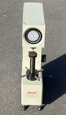 Starrett Twin Rockwell Hardness Tester Model 3815