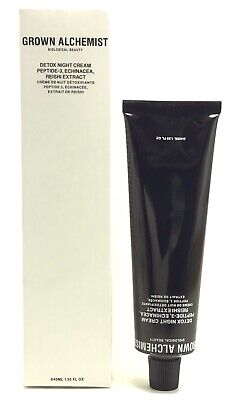 Grown Alchemist DETOX NIGHT CREAM Peptide-3 Echinacea Reishi SEALED 1.35 oz New