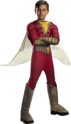 Shazam! Movie Childs Deluxe Superhero Costume Small