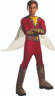 Rubies 3700706 - Shazam Deluxe - Child - Gr. S,M,L ca.  3-8 Jahre, Superheld - Shazam Superheld Kostüm