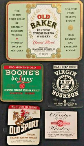 1800 -1960 Lot of 55 Unused & Different Labels-Liquor, Soda, Beauty, Beer, Fruit