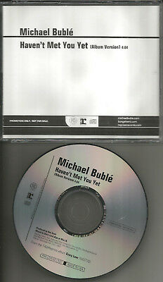 Michael Buble Haven T Met You Yet Promo Radio Dj Cd Single Usa 2009 Mint