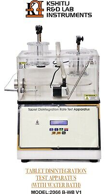 Tablet Disintegration Rate Test Apparatus With Water Bath With Heaters