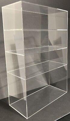 Acrylic Cabinet Counter Top Display Showcase Box 12x4x19 Display Box Acrylic