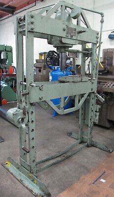 K.r. Wilson 75-ton H-frame Hydraulic Press