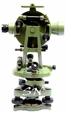 Brass 15 Theodolite-transit Surveyors Alidade Vintage Surveying Instrument