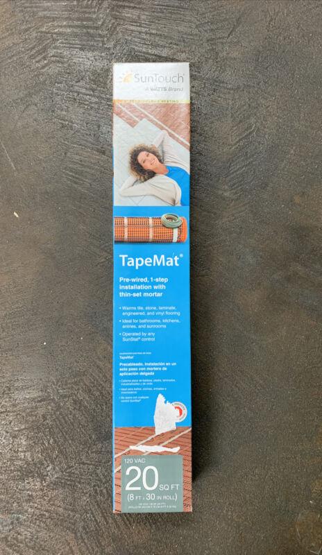 SunTouch Electric Floor Heating TapeMat  - 20 Sq. Ft. - #81010473