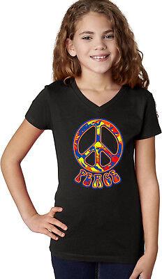 Buy Cool Shirts Girls Peace T-shirt Funky 70