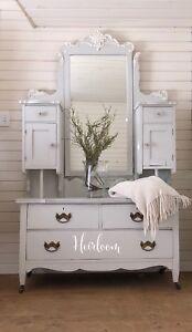 Victorian dresser/ bonnet chest