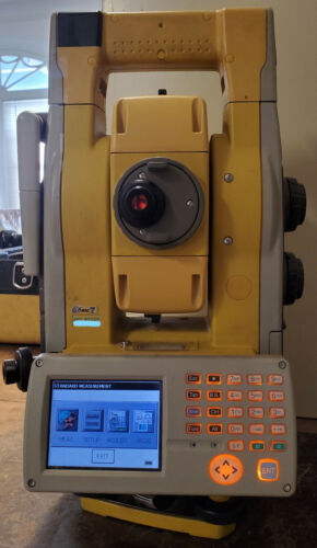 """Topcon GPT-9005A 5"""" Reflectorless Robotic Total Station"""